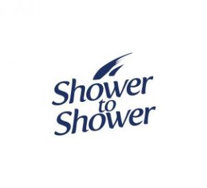 Shower to shower logo
