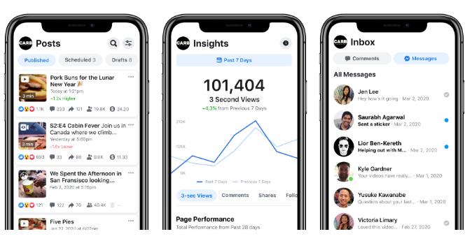 Facebook Releases Creator Studio Mobile App