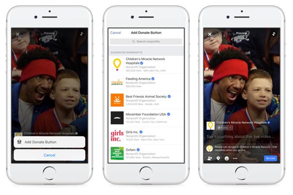 Raising money for a cause through Facebook Live